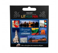 """Magnetas """"Greetings from Lithuania"""""""